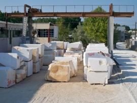 Processing the marble